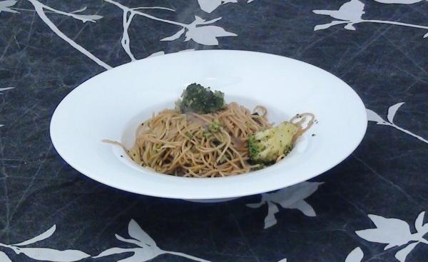 brócoli con noodles