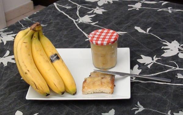 Mermelada de plátano o banana